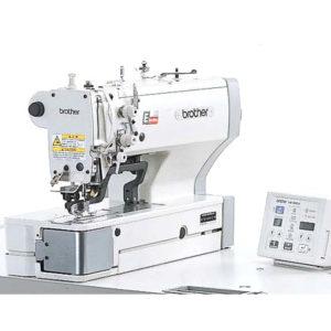 Macchina per cucire e ricamare industriale Brother Asolatrice HE-800B