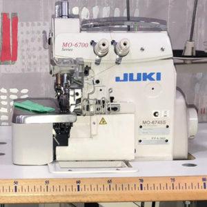 Macchina per cucire e ricamare industriale usata Juki MO-6745S