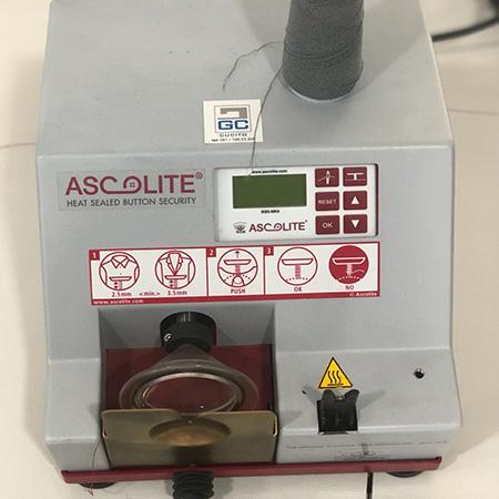 Macchina per cucire e ricamare industriale usata Ascolite BSS-MK8